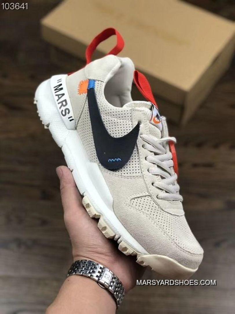 Women OFF WHITE X Nike Craft Mars Yard Sneaker SKU:171531