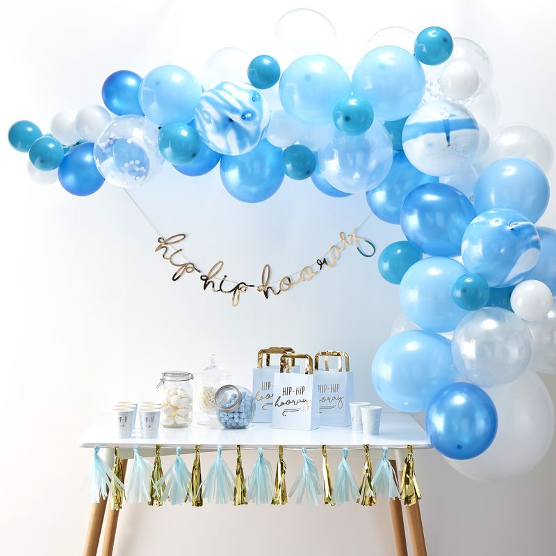 Ginger Ray Blue Balloon Arch - Trouva