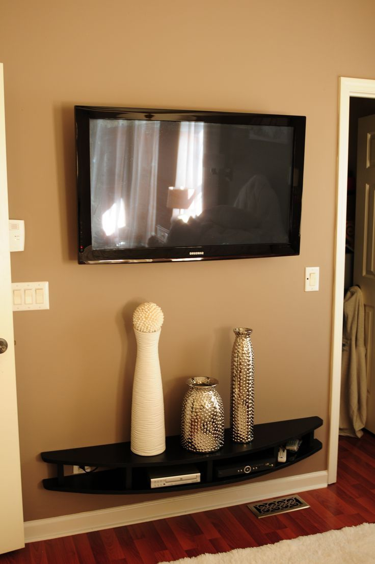 Creative And Modern Tv Wall Mount Ideas For Your Room Tvwallmount Tags Stand With Shelf Full Motion