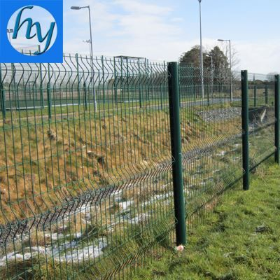 Source welded metal wire mesh fence panel welded metal wire security ...
