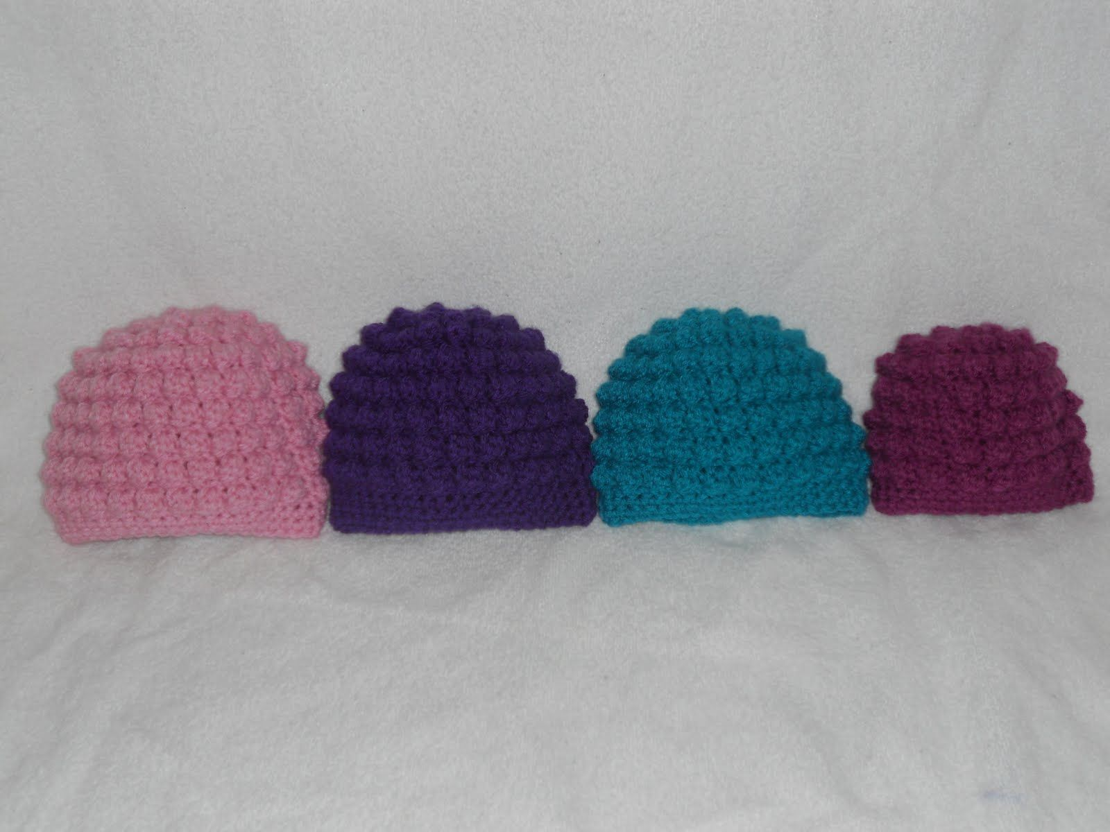 Free crochet baby hat patterns here is my pattern for the bumpy free crochet baby hat patterns here is my pattern for the bumpy bobble beanie please bankloansurffo Choice Image