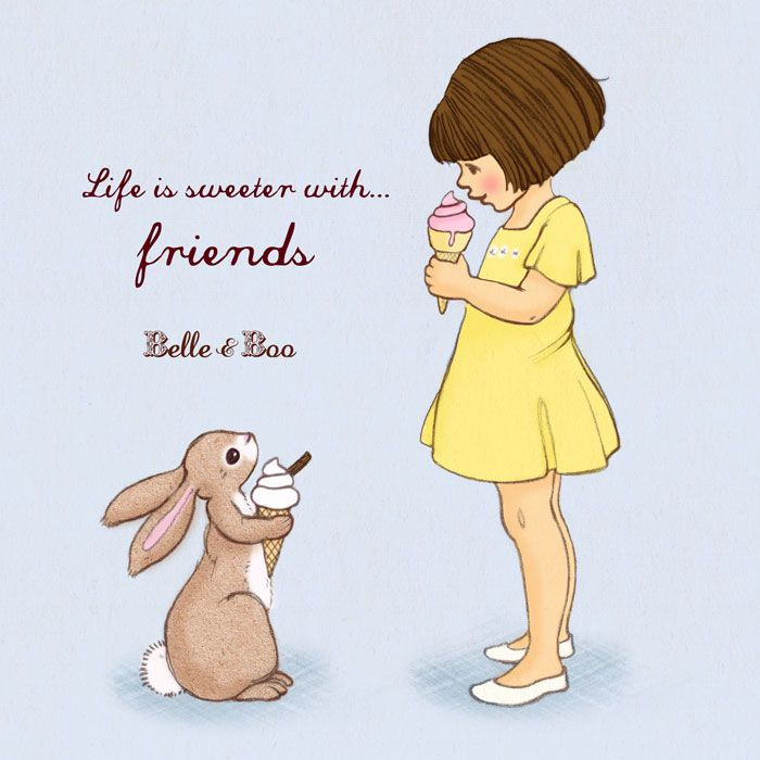 Life Is Sweeter With Friends Belle And Boo W 2019