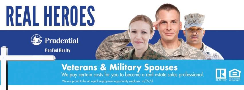 Penfed Realty Recently Launched The Real Heroes Program Designed To Support Veterans Military Spouses An Military Spouse Real Estate License Support Veterans