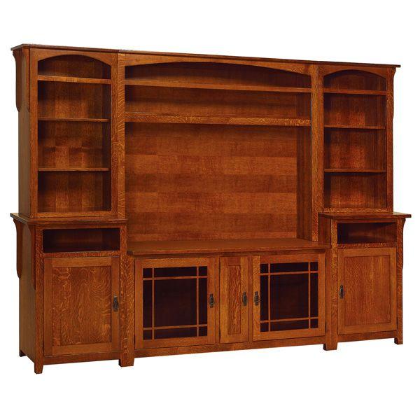 Amish Lancaster Entertainment Center Amish Furniture