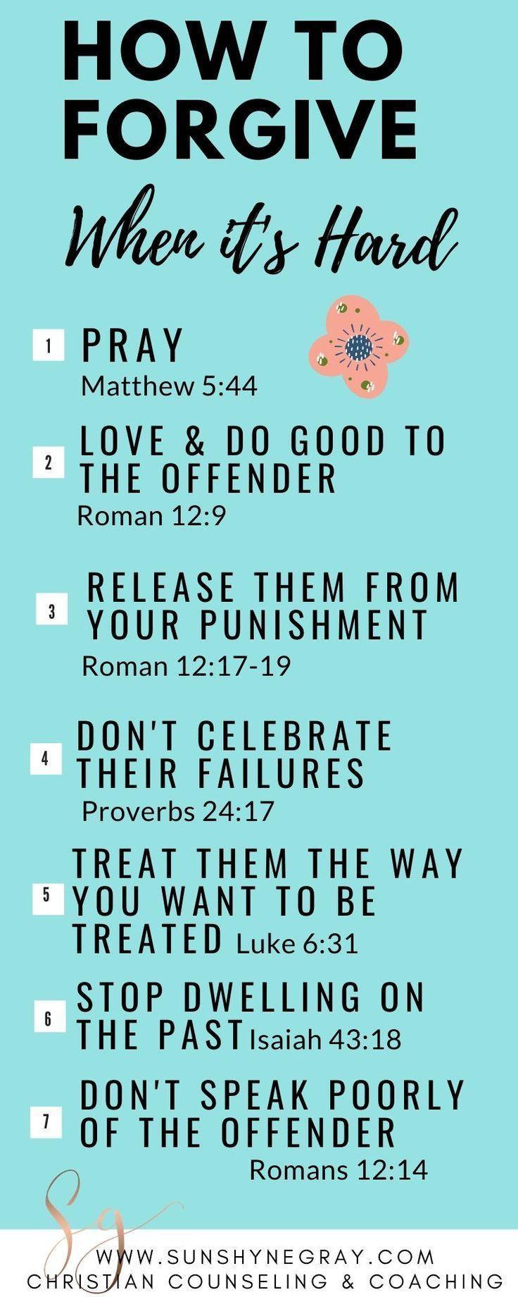 Photo of Schauen Sie sich 7 Schriftstellen über Vergebung an, auch wenn es schwierig ist, es tut ihnen…