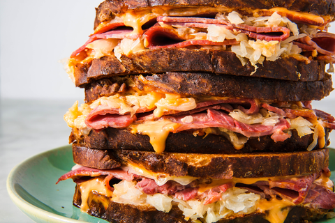 A Classic Reuben Sandwich Is Always The Way To Go
