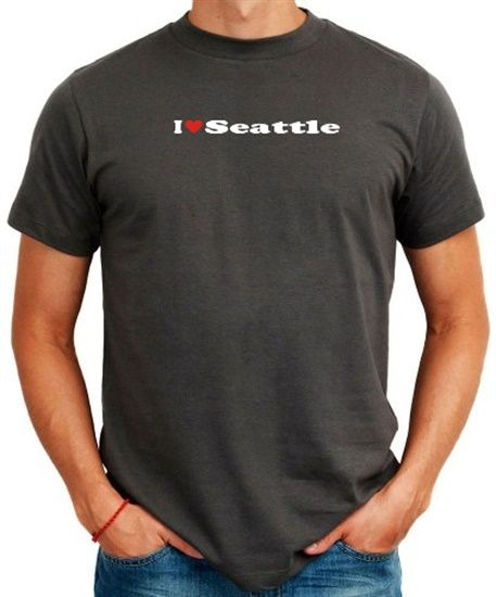 I Love Seattle T-Shirt