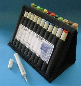 COPIC Architecture Wallet Set- 24 Sketch Markers in a Travel Wallet --- http://www.pinterest.com.yolo.bz/7y3