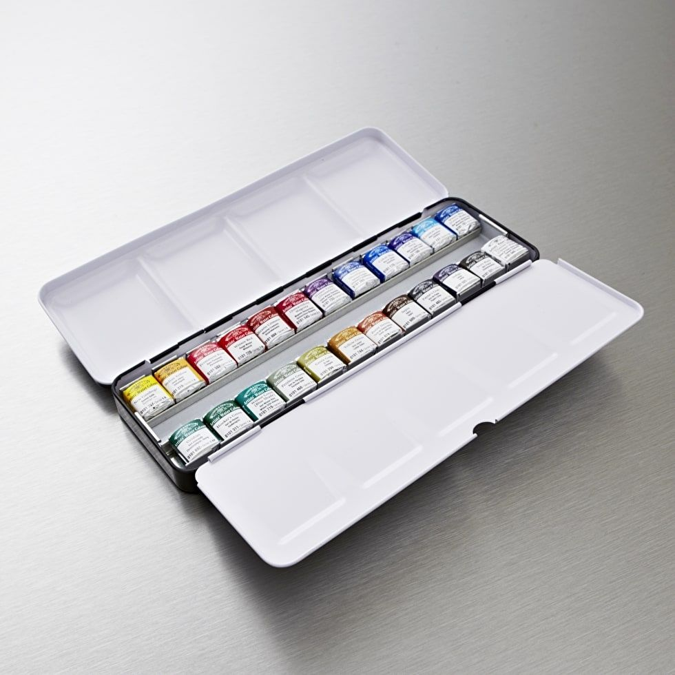 Winsor Newton Professional Watercolour Set Of 24 Watercolor