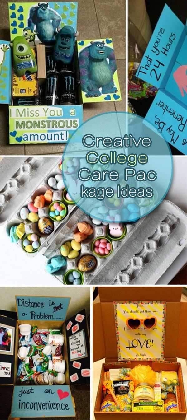 Creative College Care Package Ideas! College care