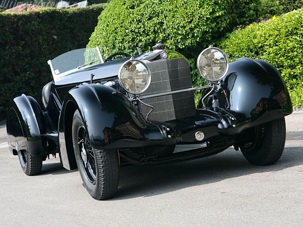 MercedesBenz 710 SSK 27/240/300 hp Trossi Roadster 1931