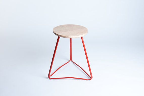 Tri bar stool by huntfurniture on etsy for hipster
