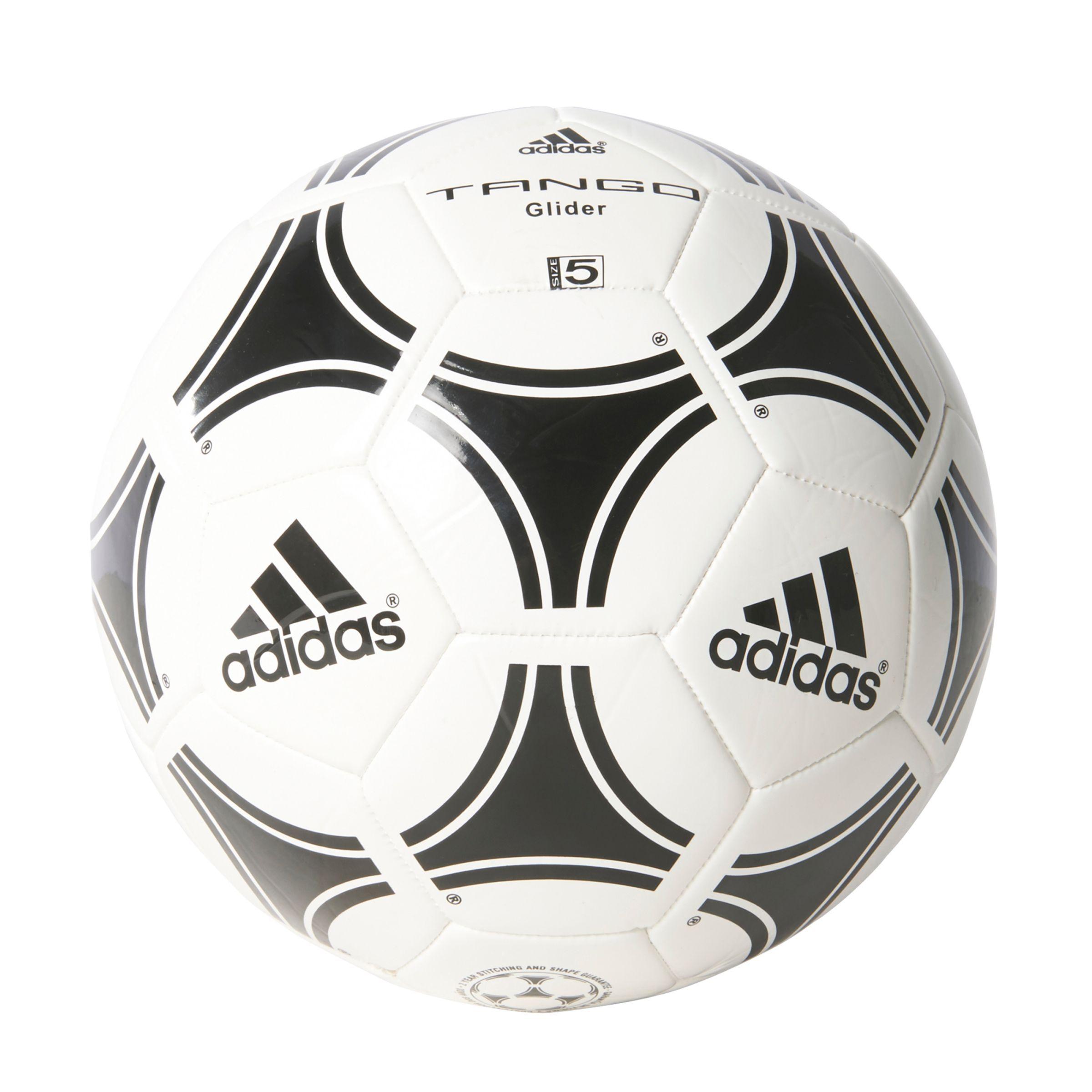 Adidas Tango Glider Football Size 5 White Black In 2020 Soccer Ball Soccer Football Ball