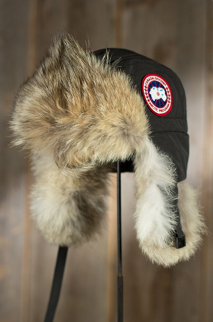 da5216bed9482 Canada Goose Fur Trapper Hat - fortyninegroup
