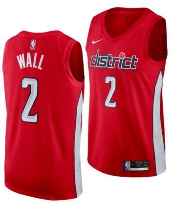 bf9e199dd Nike John Wall Washington Wizards Earned Edition Swingman Jersey ...