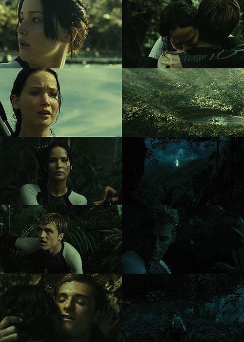 Peetniss Peeta Katniss Los Juegos Del Hambre En Llamas