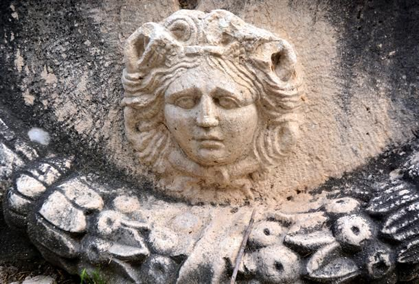 Archaeology Head Of Medusa Found In Antalya Roman Artifacts Archaeology Ancient