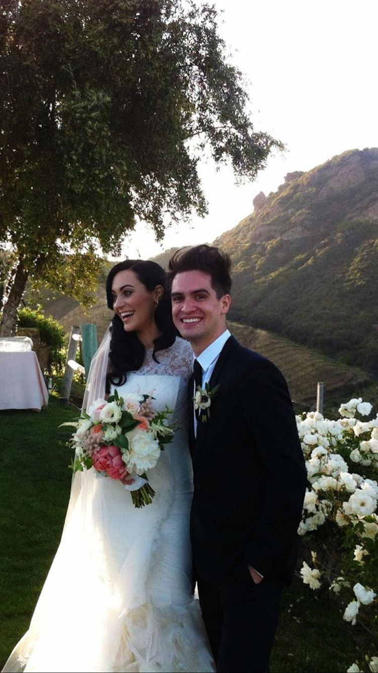 Pin by katie on sarah's snaps Brendon urie wedding