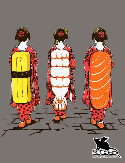 D-Series 051 - Sushi Ladies