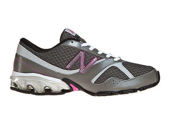 New Balance 756 - Silver with Pink   Womens running shoes, Cross ...