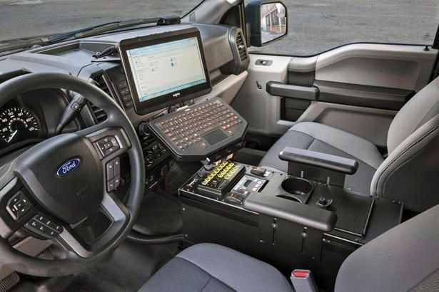 Ford F150 Police Car Revealed Ford Police Police Truck Tactical Truck