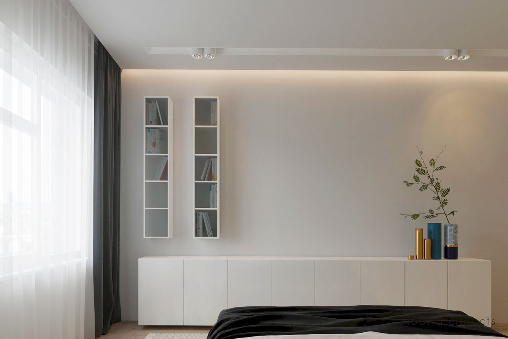 Dreaming of Light: An Open Space Apartment Presenting Romantic ...