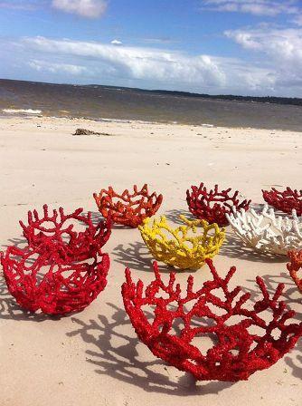 Coleção Acaú desenvolvida com as marisqueiras do litoral sul da Paraíba.