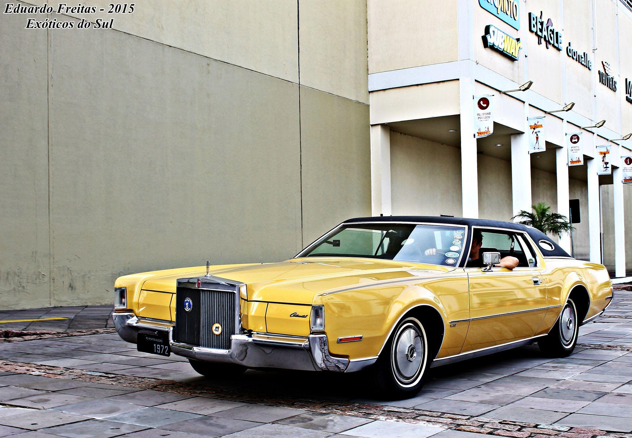 Lincoln Continental Mark Iv Porto Alegre Rs Brasil Lincoln