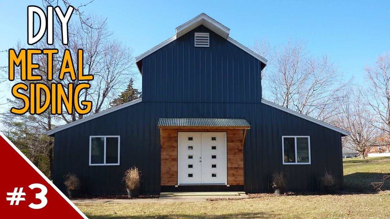 Best Installing Metal Siding On A House Part 3 Of 4 Youtube 400 x 300