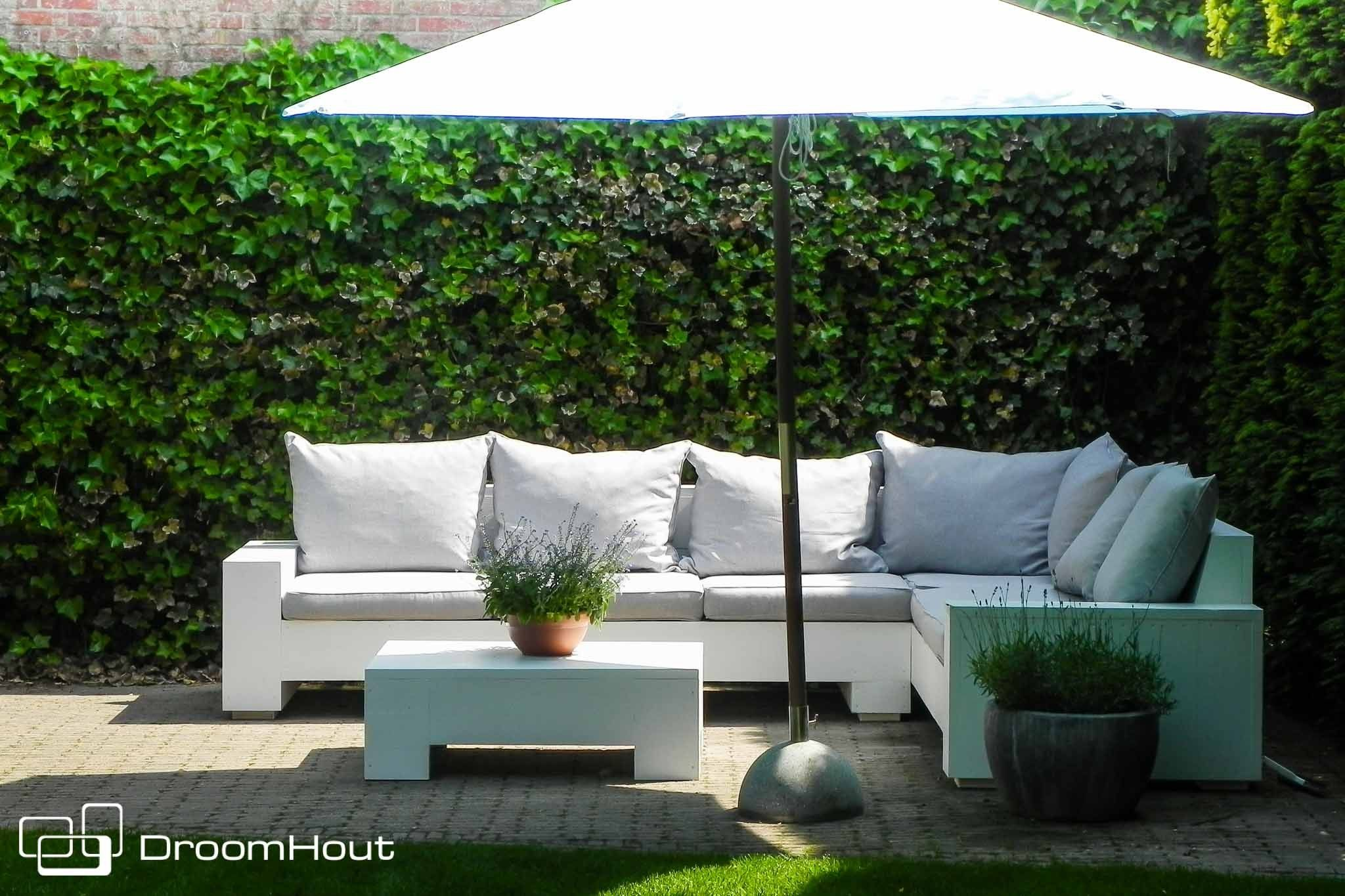 Lounge Hoekbank Tuin : Lounge hoekbank tuin hout hagemøbler pinterest