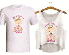 Camiseta E Copped Para Chá De Bebe Cha De Bebe Tematico Pinterest