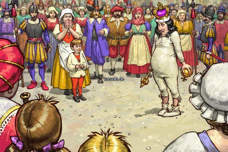 Новый наряд короля картинка