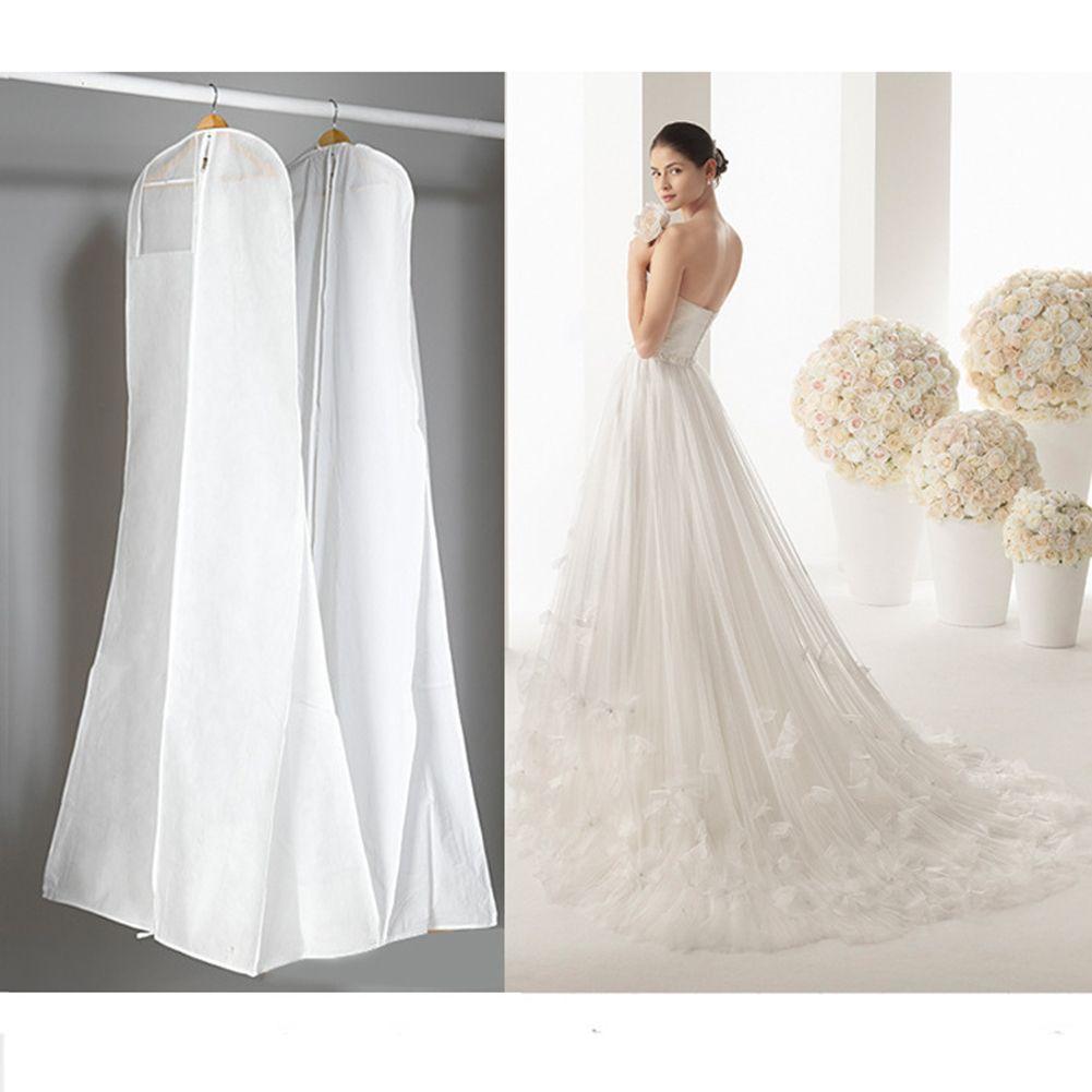 Photo of Hochzeit Abendkleid Kleid Kleidungsstück Aufbewahrung Cover Bag Protector