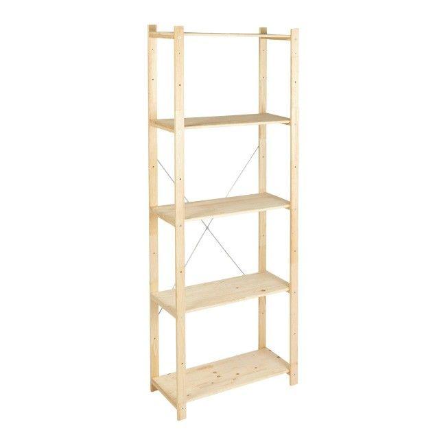 Regal Drewniany Form Symbios 28 X 65 X 170 Cm 40 Kg Wood Shelving Units Wood Shelves Wooden Shelving Units