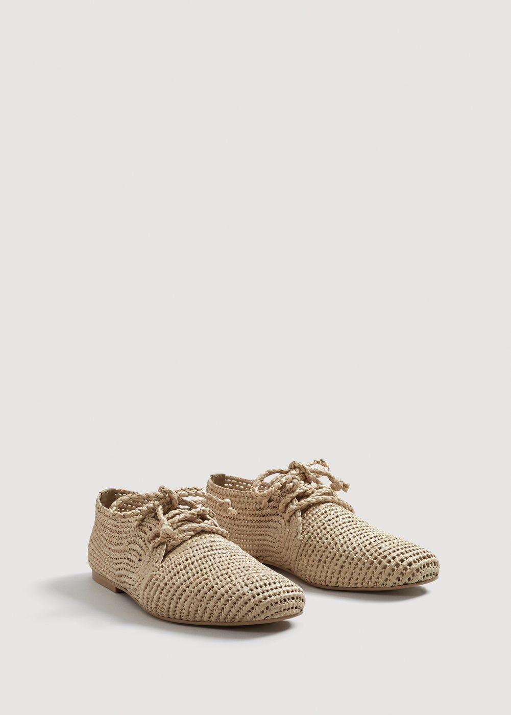 Zapato trenzado - Zapatos de Mujer | MANGO España