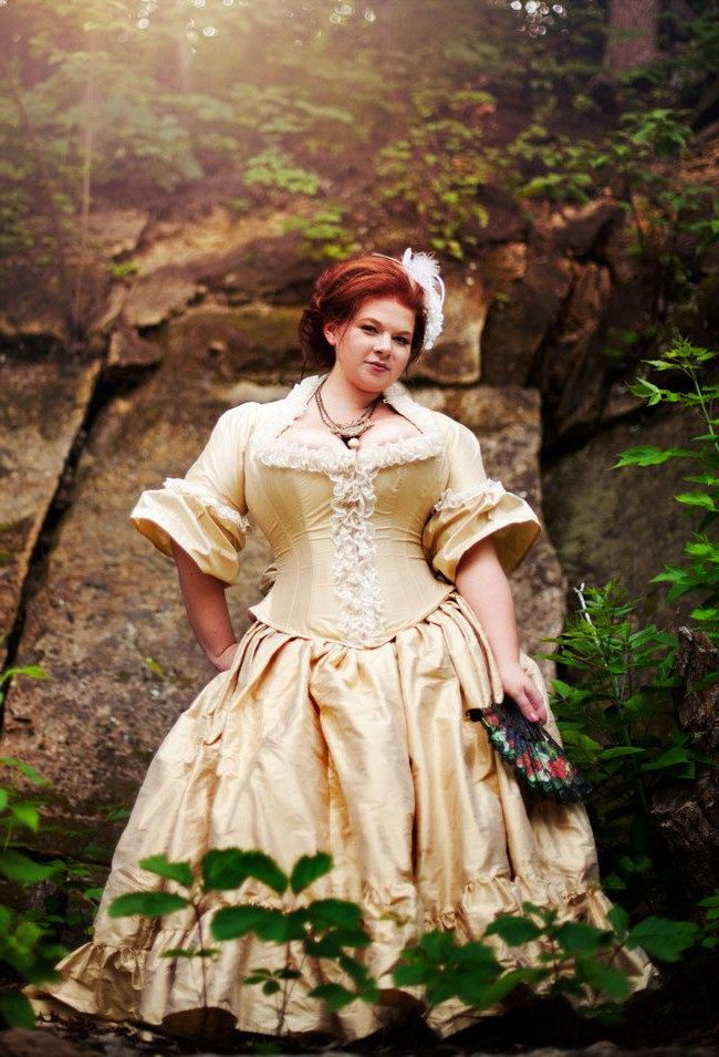 Plus Size Victorian Wedding Dress Corseted Jacket Steampunk Style ...