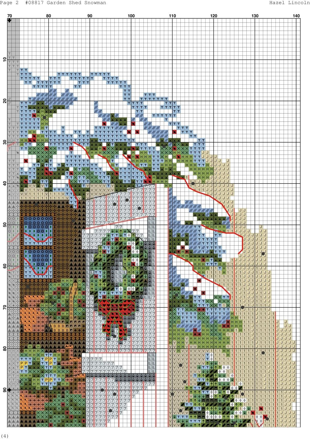 Garden Shed Snowman 2