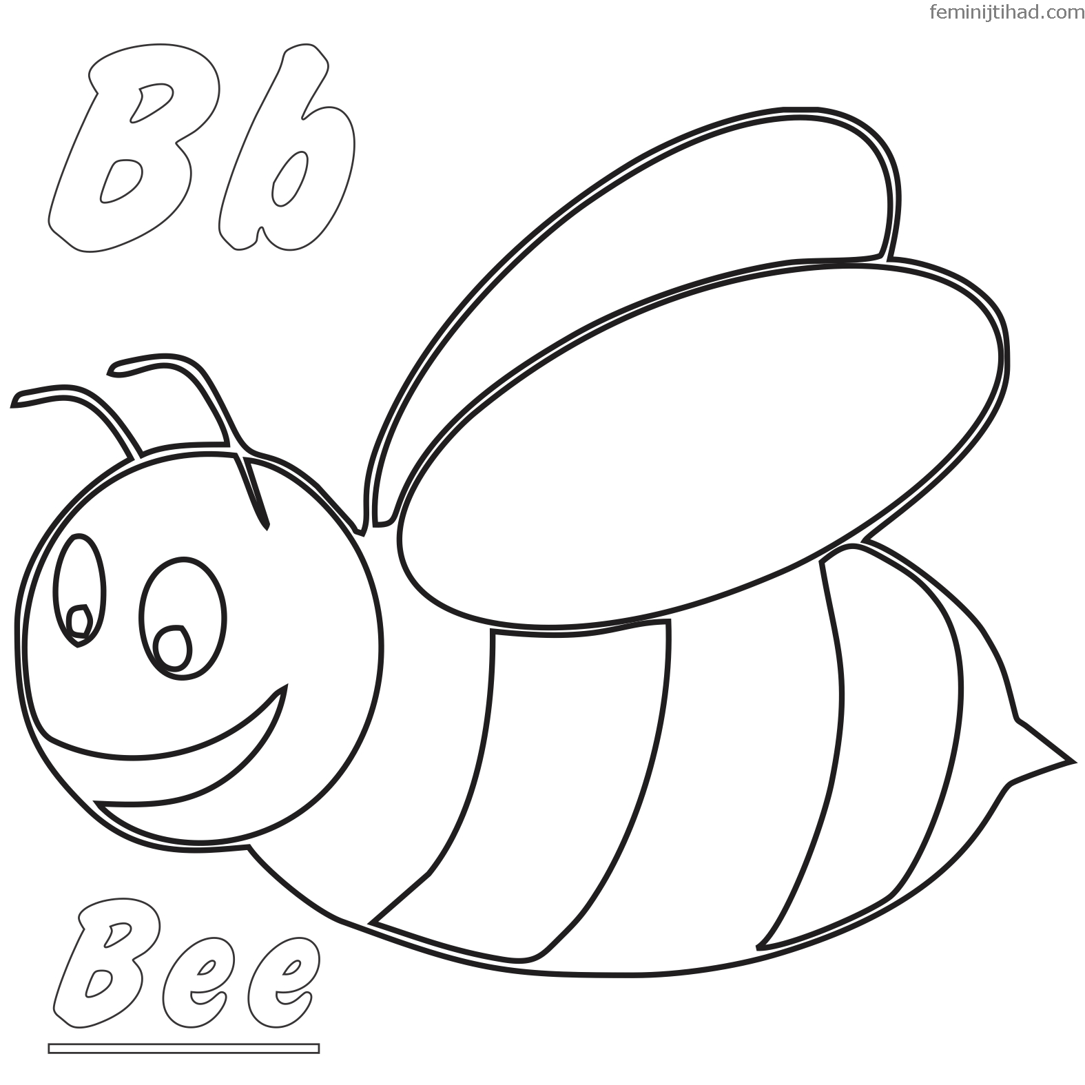 Bumblebee Coloring Pages Collection Bee Coloring Pages Bee Tags Animal Coloring Pages