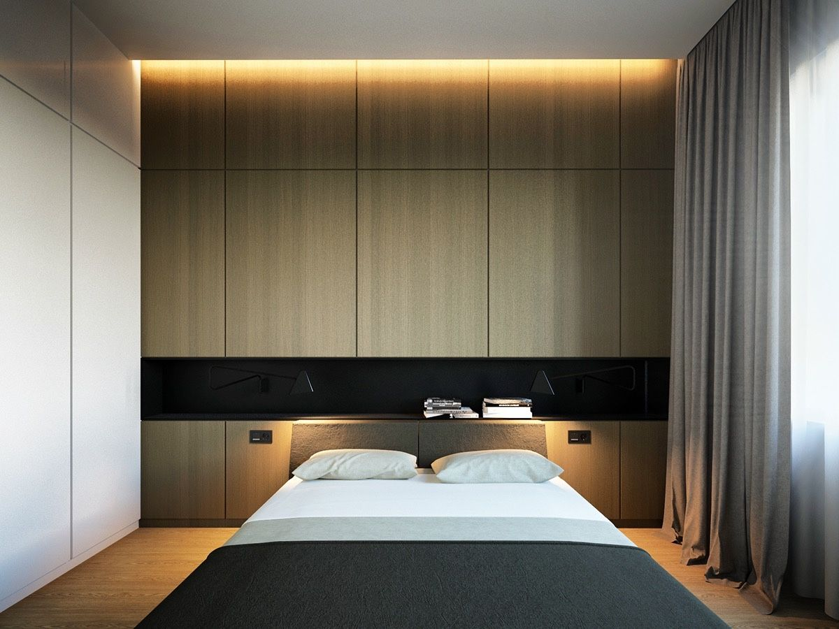 charming minimalist bedroom design | Lighting is art. Decorators balance a wide range of needs ...