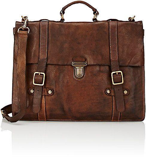 Campomaggi Men's English Briefcase