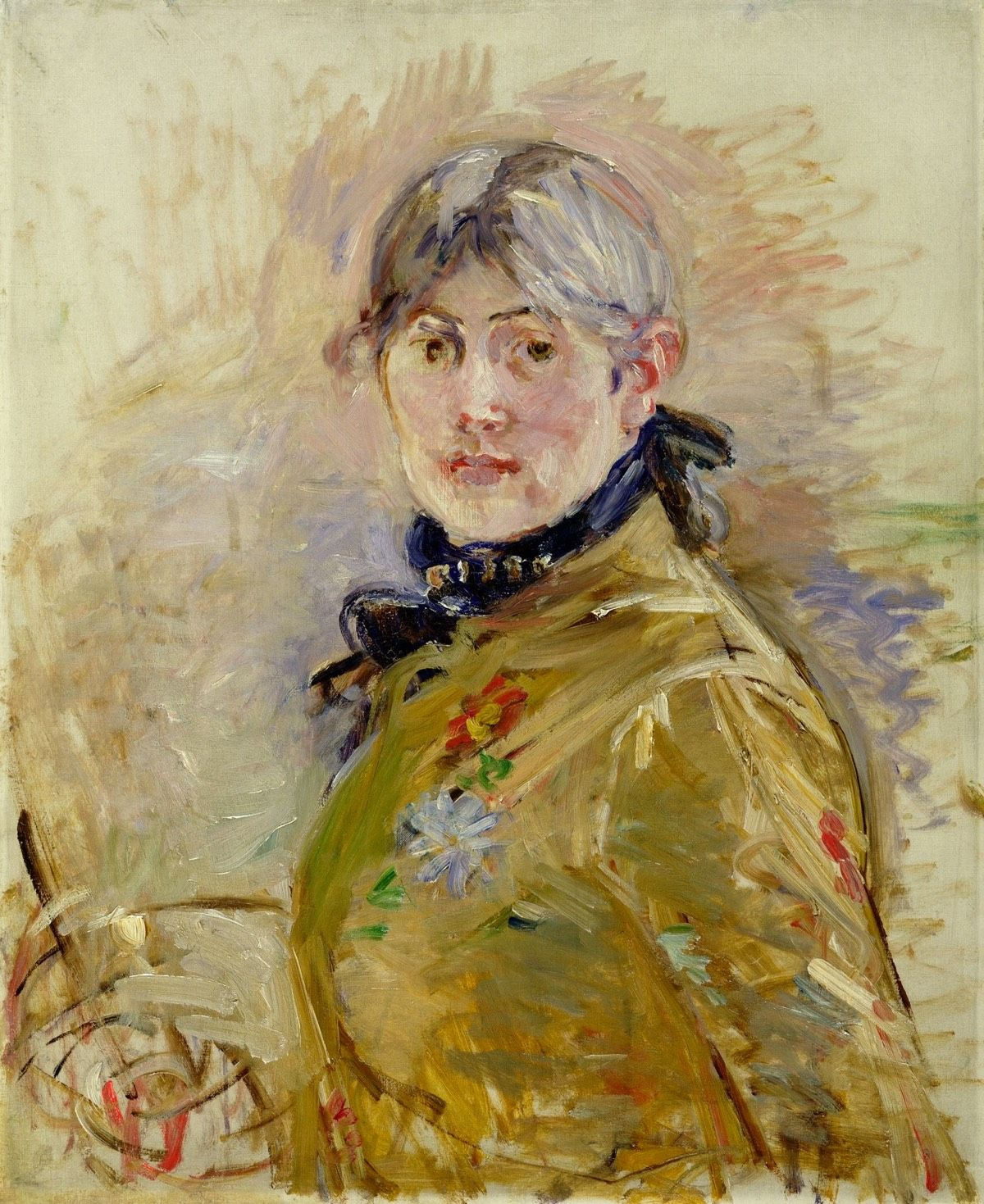 Berthe Morisot, the Forgotten Pioneer of Impressionist Painting is part of Berthe morisot, Morisot, Portrait painting, Impressionist paintings, French impressionist painters, Manet - Manet, Degas, Renoir, Monet, and Morisot  You've likely not heard of that last one, but Berthe Morisot was one of the foundi