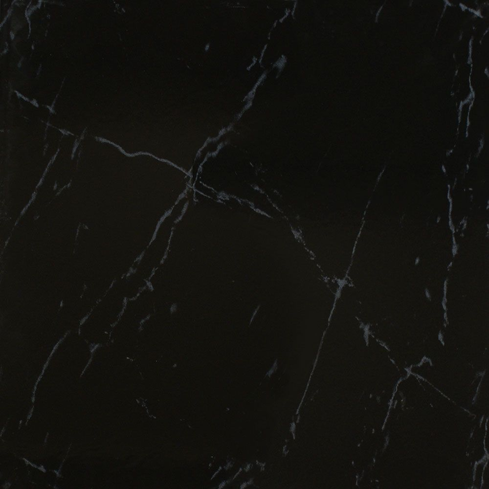 Designer White Abstract Ceramic Wall Tile Pack Of 8 L: Black Marble Texture Tile Design Inspiration 216443 Other