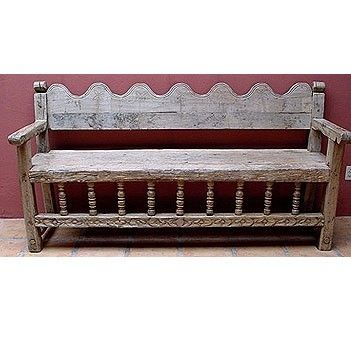 Surprising Mexican Antique Bench By Christie Backyard Ideas In 2019 Camellatalisay Diy Chair Ideas Camellatalisaycom