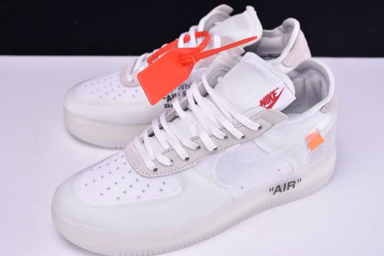 Off White X Nike Air Force 1 Low White 5