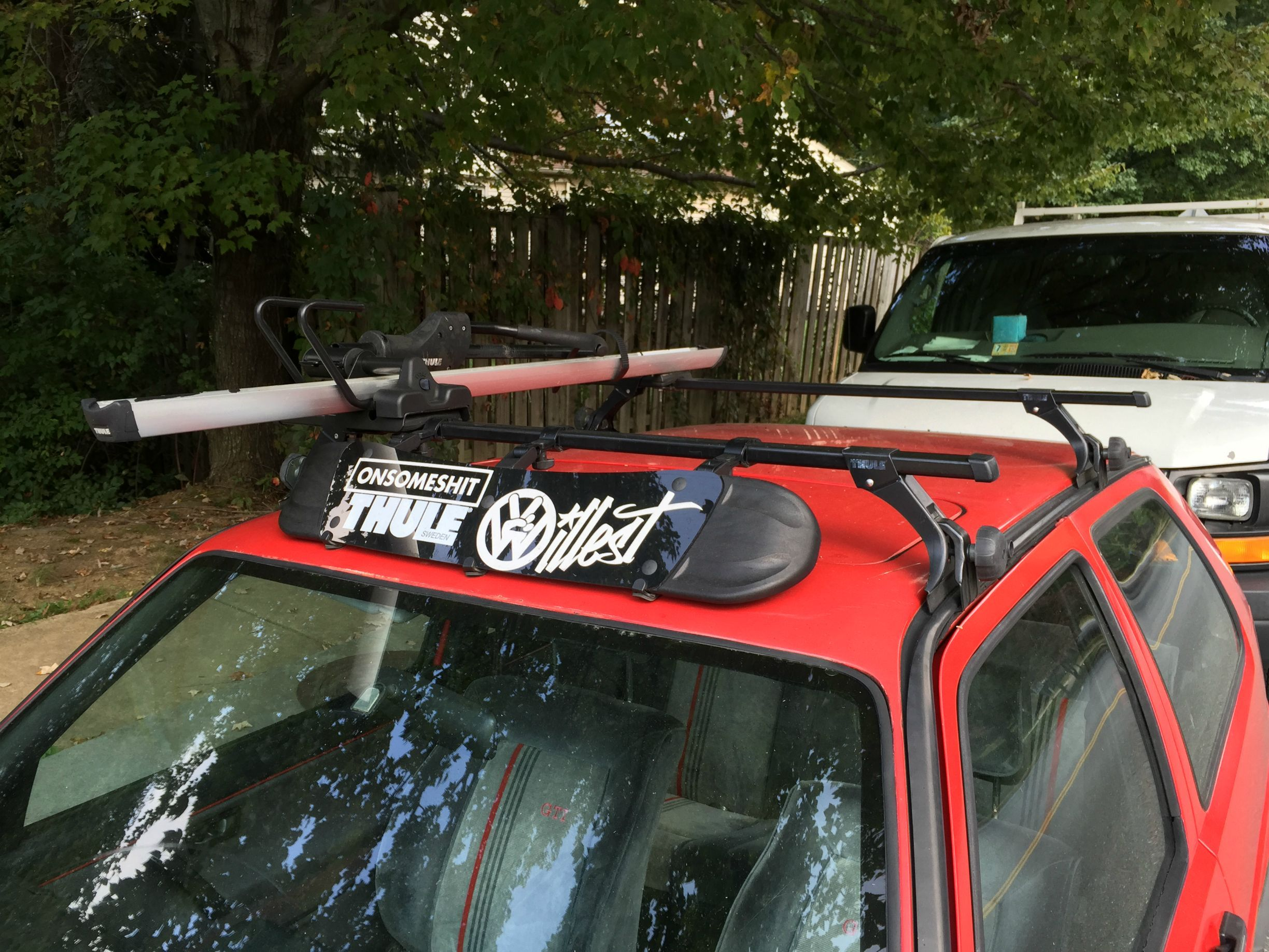 Golf Mk3 Roof Rack Skateboard Google Search Roof Rack Golf