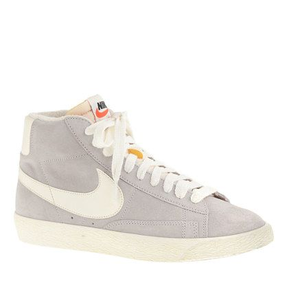 nike blazer suede vintage high top trainers ladies