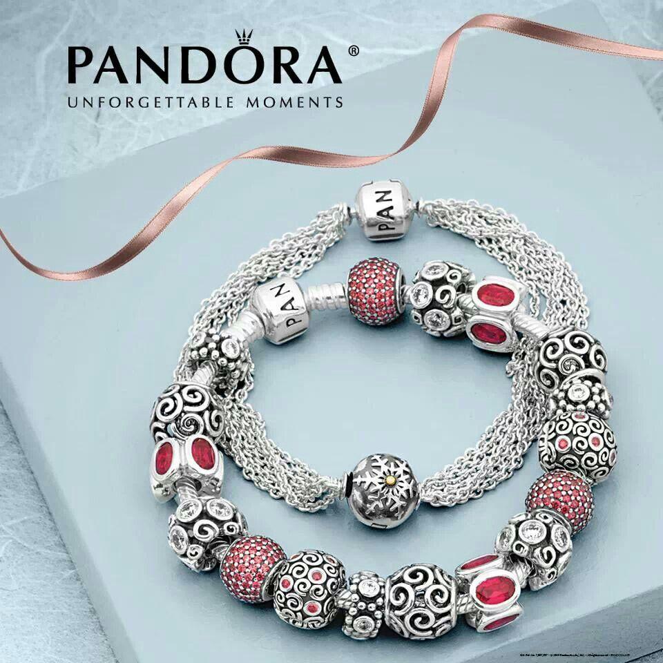 bijoux pandora rouge