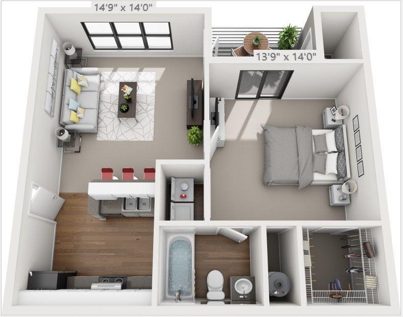 Rosehill Preserve Apartments Orlando Fl Apartments Com Sims House Design Apartment Layout Small Apartment Design