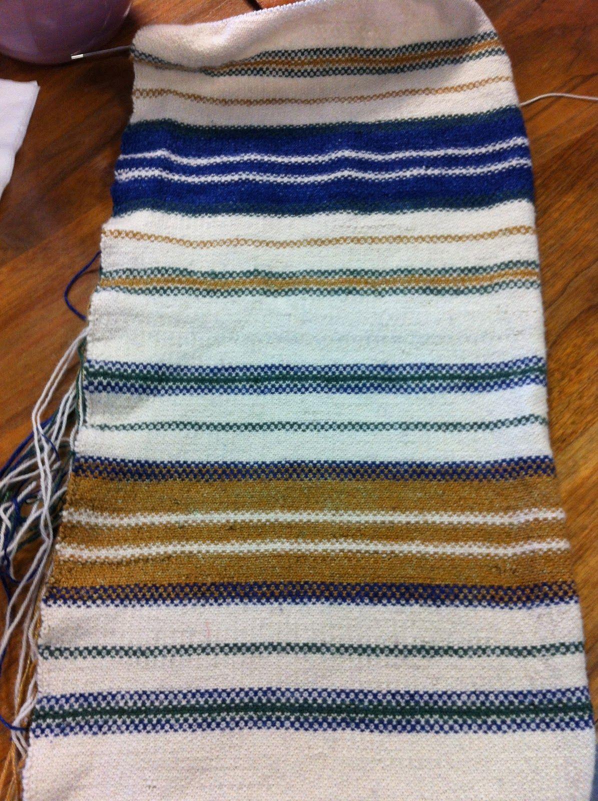 Trillium Yarns: Melissa\'s Tallit- knitted pattern | Knit and Crochet ...