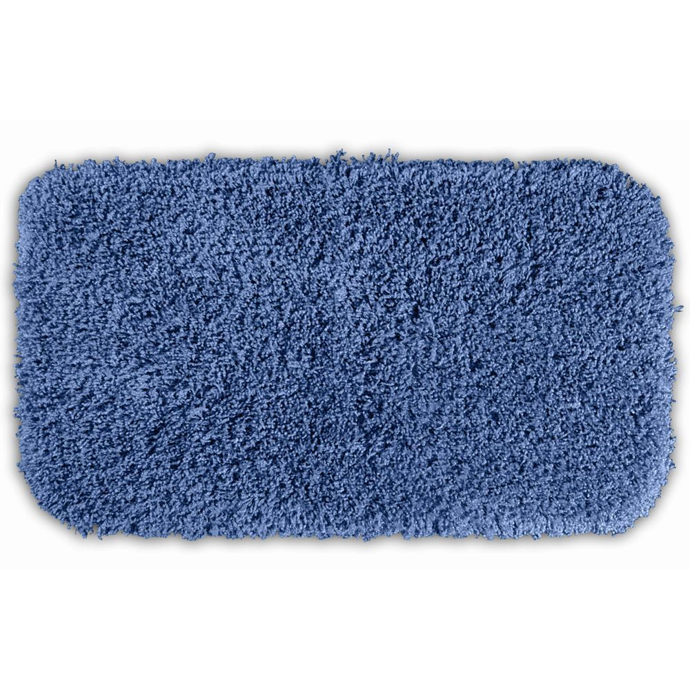 somette serenity basin blue 30 x 50 bath rugsomette | bath